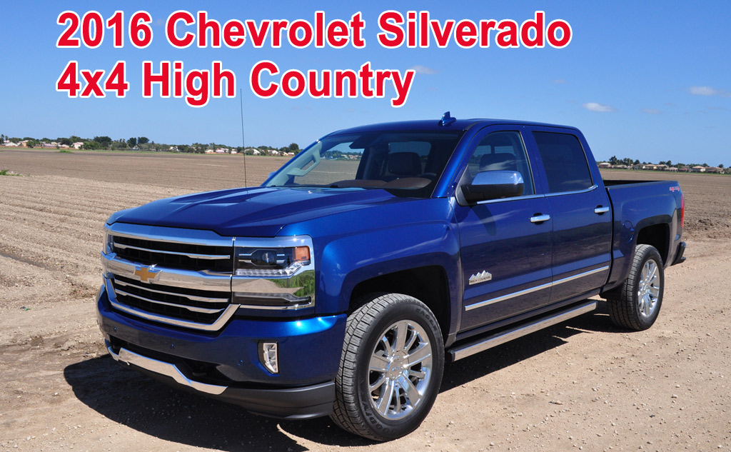 2016 chevrolet silverado 4x4 high country. Black Bedroom Furniture Sets. Home Design Ideas